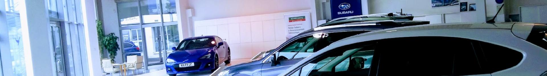 Subaru w nowym salonie